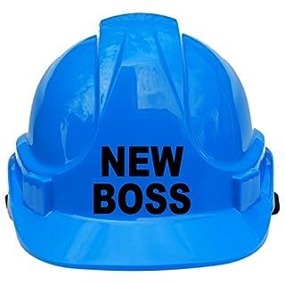 Neue Boss Kinder, Kinder Echte Hard Hat Sicherheit Helm mit Kinnriemen eine Größe verstellbar geeignet für 4–12Jahren entspricht EN397Sicherheit Standard, blau