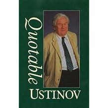 Quotable Ustinov (Thorndike Paperback)