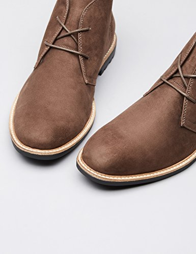 FIND Bottines Chukka Homme Marron (Choc)