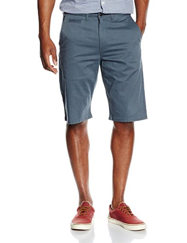 Wrangler Herren, Short, Wrangler, GR. One size (Herstellergröße: W31), Grau (dark Slate Wash)