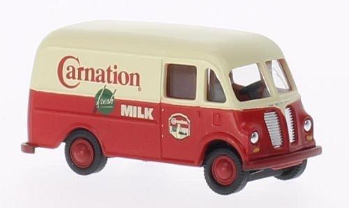 International Harvester Metro Van, Carnation Milk, Model Car, Ready-made, Classic Metal Works 1:87 by International Harvester