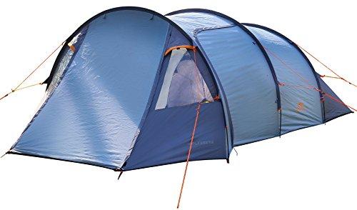 Kuppelzelt Familienzelt 2 - 3 Personen Gruppenzelt Zelt Camping mit Schmutz und Regenabweiser außen 2.000 mm Wassersäule NEU