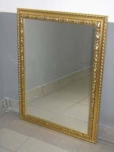 Ilbottegone specchiera design specchio a parete specchio cornice in legno da camera - Specchiera bagno amazon ...