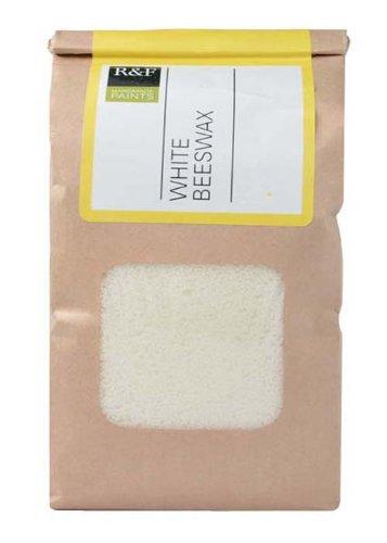 R & F Encaustic Raw Mat Bianco Cera d'api 5lb