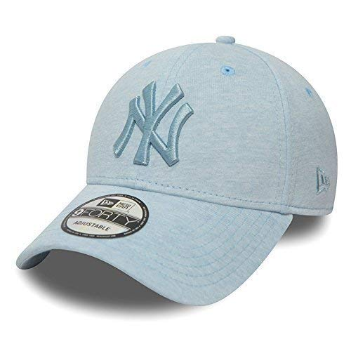 Unbekannt New Era 9forty Strapback Cappello MLB New York Yankees diversi colori - JERSEY Skyblue, OSFA (One Size fits all)