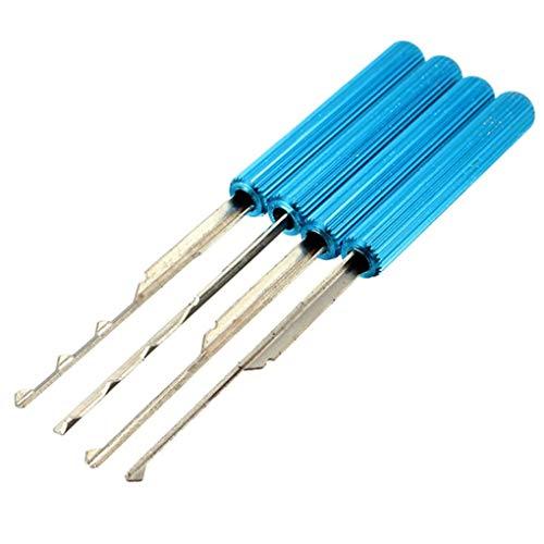 41BTE5OII0L - Yongse DANIU 18Pcs Dimple Lock Pick Tools Herramienta de cerrajería de Apertura de Puerta de combinación