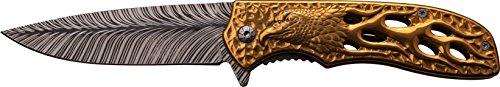 chenmesser Gold Hawk, Klingenlänge: 9,53 cm, DS-A043GD ()