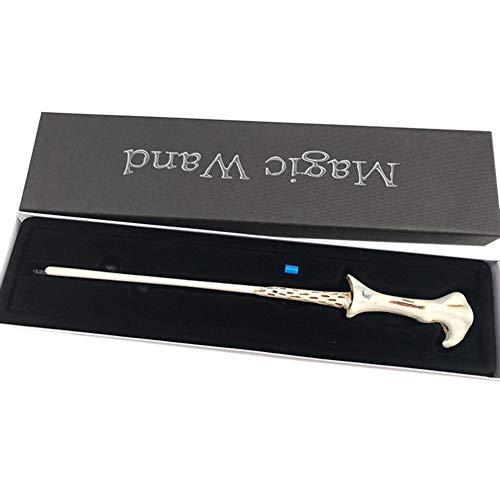 Ysoom Harry Magie Cosplay Wand Zauberstab Dumbledore Hermine Cosplay Toy Gift Geschenk Spielzeug mit Box (Voldemorts Zauberstab) (Voldemort Zauberstab)
