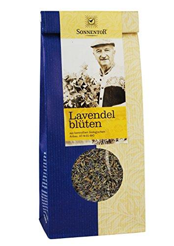 Sonnentor Tee Lavendelblüten lose, 2er Pack (2 x  70 g) - Bio