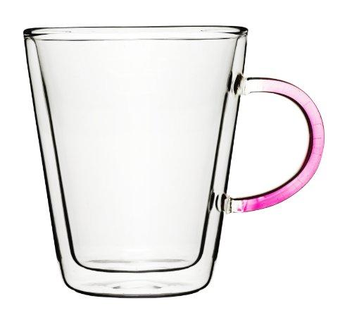 Sagaform 5016171 Mug à Thé Jeu de 2 Rose