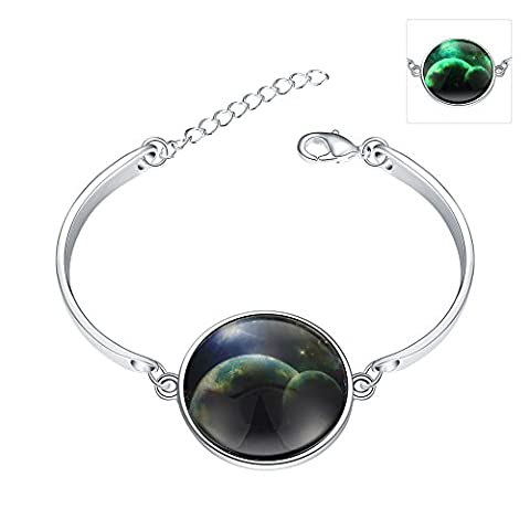 Beautiful Night Sky Bracelet, plaqué argent