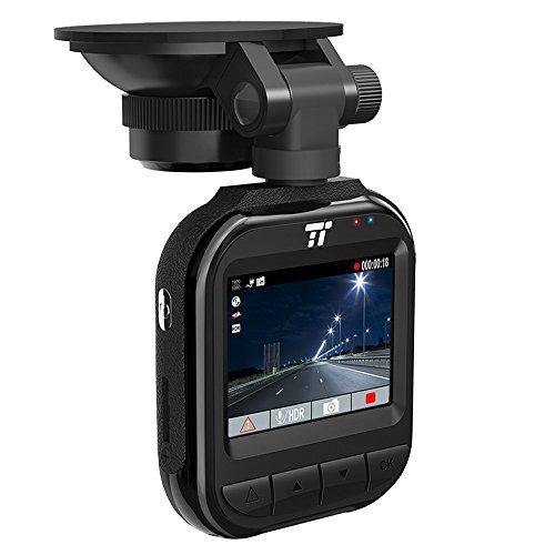 """Dash Cam DVR Voiture TaoTronics Caméra de Voiture Embarquée Dashcam (2K/30fps, 1080p/45fps, Capteur 400W, 160 Degrés Lentille Grand Angle, Écran 2"""", Carte SD 32GB incluse, Accéléromètre, Enregistrement en Boucle)"""