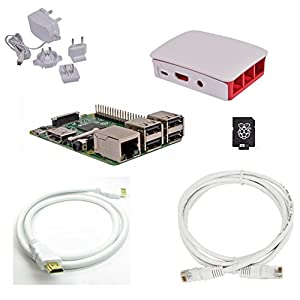 41BTHalXHDL. SS300  - Raspberry Pi 3 Official Desktop Starter Bundle