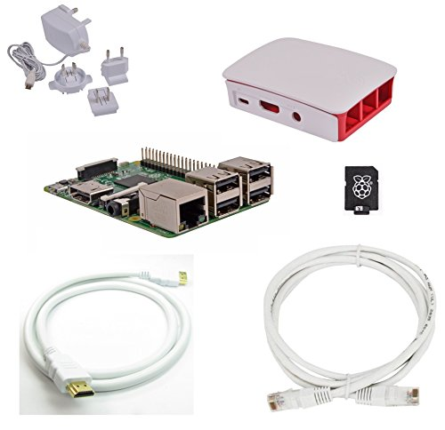 Raspberry Pi 3 Official Desktop Starter Bundle (16Gb, - Raspberry Pi B Bundle Model