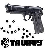 KOSxBO Softair Pistole Taurus PT92 Federdruck inklusive 6mm Premium BB Munition 0,5 Joule Softair ab 14 Jahren