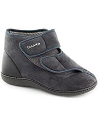 Tecnica 1 - scarpe ortopediche per anziani con sottopiede estraibile