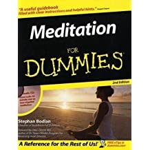 Meditation For Dummies (Book and CD edition) by Stephan Bodian (2006-02-06)