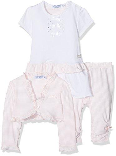 Dirkje Baby-Mädchen Unterwäsche-Set 3 Pce Babysuit Dress