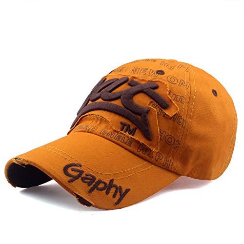SYQY Baseballmütze Neue Marke hüte baseballmütze hüte ausgestattet billige hüte für männer Frauen schaden Cap Casual Stickerei Baseball Cap,C9
