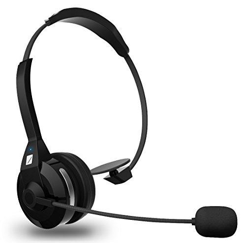 FRiEQ Mehrpunkt Rauschunterdrückung drahtlose Bluetooth Kopfhörer (4,0), 30 Stunden Sprechzeit mit eingebautem Mikrofon für iPhone 6 / 5s / 4 / 4s, LG, Sony, Blackberry, Samsung, HTC, Nokia, Smartphones - Kompatibel mit allen Bluetooth-fähigen Geräten