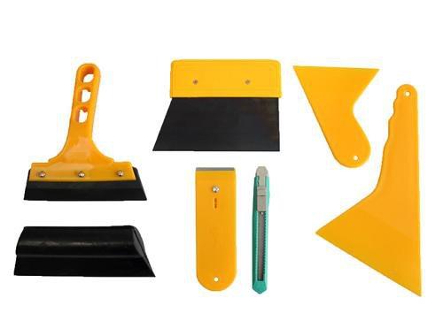 Folien Rakel Set Tönungsfolie Sonnenschutz Folie Montage Abziehen Werkzeug -