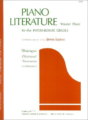 [(Bastien Piano Literature: v. 3: Intermediate Grades * * )] [Author: Jane Smisor Bastien] [Sep-1998]
