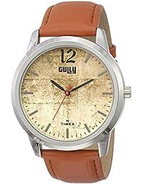 Gully by Timex Grunge Analog Brown Dial Men's Watch-TWEG15016
