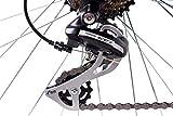 CHRISSON 28″ Zoll CITYRAD ALU Fahrrad E-Bike PEDELEC E-Gent mit 7G Shimano Weiss 53cm- 71,1 cm (28 Zoll) - 6