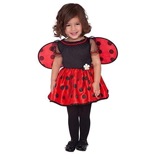Imagen de amscan international  disfraz de mariquita para niña