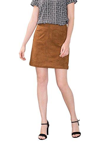 esprit-086ee1d011-jupe-femme-marron-toffee-42