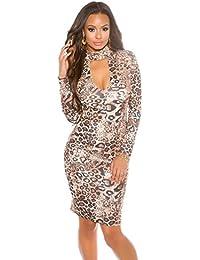 KouCla - Vestido - Con cortes - Básico - para mujer