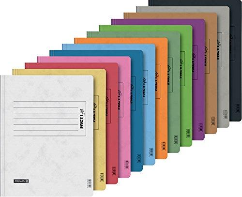 13 Schnellhefter Papphefter 13 Farben extra stark Brunnen Hefter 375g