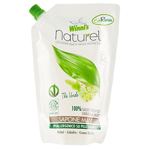 Winnis Naturel Ecoformato Sapone Liquido per le Mani e il Viso 500 ml