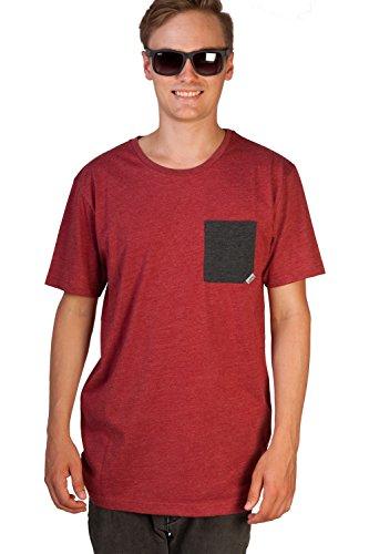 Cleptomanicx -  T-shirt - Uomo HeatherDriedTomato