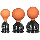 3er Schröpfglas-Set mit Ball 35-45-55mm zum professionellen