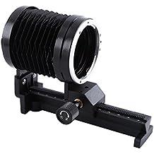 Macro Fuelle de Extensión de Cámara con Montura Trípode Macro Fuelle de Cámara para Canon EOS EF Mount Focus