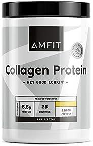 Amazon-Marke: Amfit Nutrition Kollagen-Protein, Zitronen-Geschmack, 454g (ehemals PBN)
