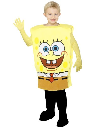 Disfraz infantil de Bob Esponja (talla mediana| 6-8 años)