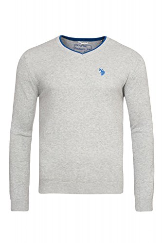 us-polo-assn-v-neck-sweater-herren-pullover-sweatshirt-grau-mit-ellenbogen-patch-173-42619-51894-180