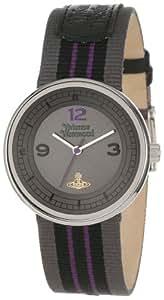 Vivienne Westwood Spirit Unisex Quartz Watch with Grey Dial Analogue Display and Grey Nylon Strap VV020GYBK