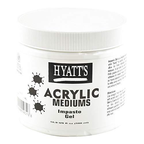 Hyatt's Acrylic 16 oz Impasto Gel -