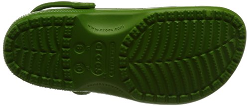 Crocs Cayman, Sabots mixte adulte Vert (Parrot Green)