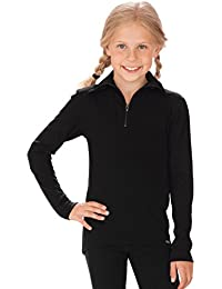 Trigema Mädchen Langarm Ski/Sport Shirt T-Shirt Manches Longues Homme
