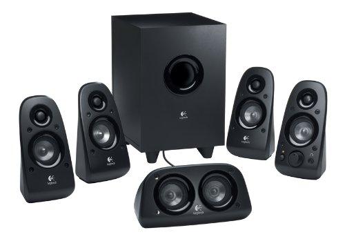 Logitech-Z506-Surround-Sound-SpeakersSurround-Sound-System-Black