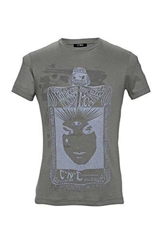 C'N'C Costume National T-Shirt Damen Olivgrün Größe M (C'n'c Costume National)