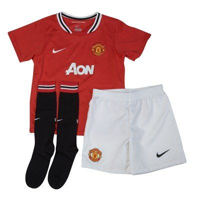 Mini-kits de Nike Maanchester United pour garcons