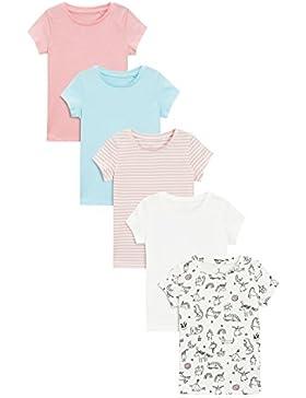next Niñas Pack De Cinco Camisetas Manga Corta (3-16 Años) Estándar