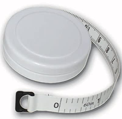 """1.5m/60"""" Round Fabric Tape Measure with Casing"""