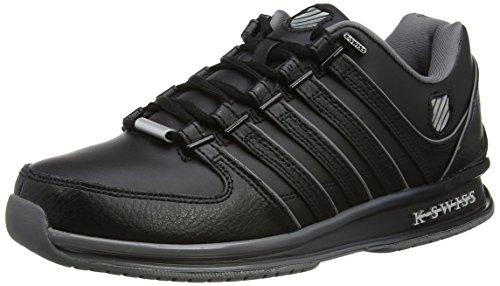 K-Swiss Herren Rinzler SP Fade Sneakers, Schwarz(Black/Charcoal/Silver), 42 EU