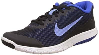 Nike Women's Flex Experience Rn 4 Black and Blue Running Shoes - 4 UK/India (36.5 EU)(4.5 US)